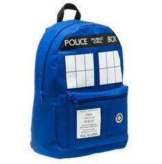 Doctor Who, Tardis, bag I want to it..