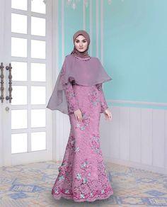 Muslimah Wedding Dress, Muslim Wedding Dresses, Muslim Dress, Bridal Dresses, Dress Brukat, Hijab Dress Party, Kebaya Dress, Abaya Fashion, Muslim Fashion