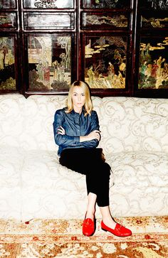 Meet the 20 Women Who Are Changing Your World:  Gucci Creative Director, Frida Giannini, Makes Change Fashionable