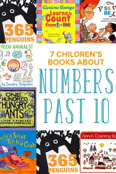 Is your child ready to count to number past 10? These 7 fun children's books…