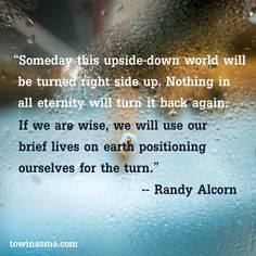 Image result for serving God in an upside down world