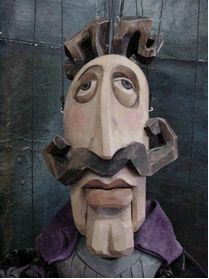 czech puppets and marionettes - Prague Cardboard Sculpture, Cardboard Art, Sculpture Art, Puppet Costume, Marionette Puppet, Master Of Puppets, Toy Theatre, Puppet Making, Doll Repaint