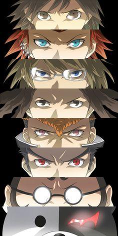 Danganronpa Memes, Danganronpa Characters, Danganronpa Trigger Happy Havoc, Anime Eyes, All Anime, Give It To Me, Funny Memes, Animation, Fan Art