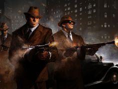 Mafia gunmen