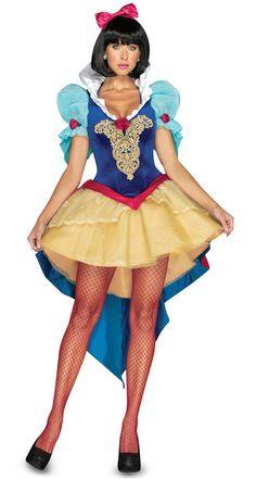 Deluxe Snow White Costume | Leg Avenue Deluxe Snow White Costume, Snow Queen Costume