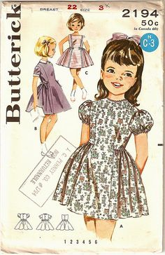 Vintage Pattern - Kids 3 by gemgirlart, via Flickr