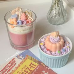 Soy Candles, Scented Candles, Handmade Candles, Melancholy, Cute Icons, Aesthetic Food, Headers, Business Ideas, Crackers