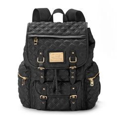 Juicy Couture Lacey Quilted Backpack