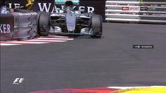 Rosberg peeling the banners F 1, Formula 1, F1 Season, Twitter, Monaco, Banners, Closer, Banner, Posters