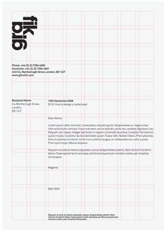 Letterhead Grid Syst