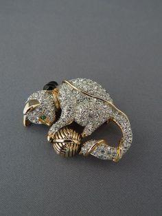 Image result for vintage lisa drumm lizard brooch / pin
