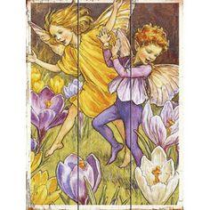 Fairy Child Wood Sign