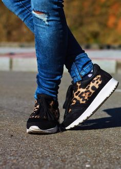 Animal print in my shoes! | Looks and shoes