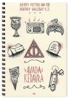 Imagem de harry potter, avada kedavra, and hp