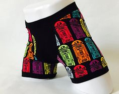 Star Wars underwear, funny underwear, men's boxer briefs, geek underwear, honeymoon boxers, boyfriend gift, groom boxers, custom underwear