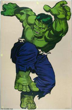 (Incredible Hulk By Jack Kirby. Green Hulk Appreciation last edited at PM. Reason: Good God, didn't know it was THAT big. Marvel Dc, Marvel Comics Superheroes, Marvel Comic Universe, Marvel Heroes, Comic Book Artists, Comic Artist, Comic Books Art, The Incredible Hulk Marvel, Hulk Movie