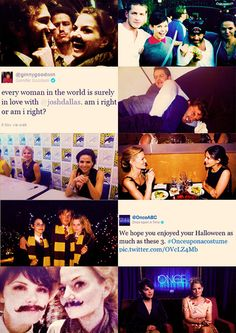 the cast of Once Upon A Time.