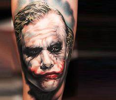 Joker tattoo by Khan Tattoo
