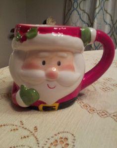 Santa Christmas Coffee Tea Hot Chocolate Mug Cup Vivid Colors coco gift java joe #Nobrand