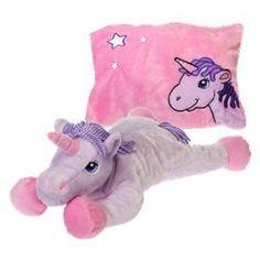 """Fiesta Toy Peek-a-Boo Plush 18"""" Unicorn"""