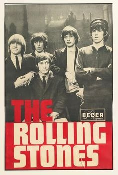 The Rolling Stones - Decca Promo Mini Print