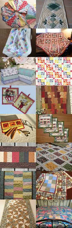 Quilts! by Debbie and Darla on Etsy--Pinned with TreasuryPin.com