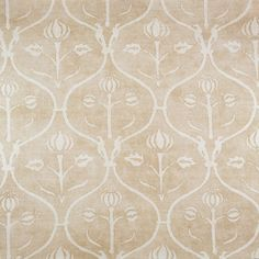 Rose Tarlow I Melrose House I Damask Stencil Fabric Rug, Fabric Wallpaper, Linen Fabric, Textile Patterns, Flower Patterns, Print Patterns, Textiles, Melrose House, Rose Tarlow
