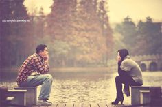 love the idea of a 'waiting' photo for an engagement shoot!