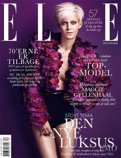 Covers of Elle Denmark with Julie Hasselby