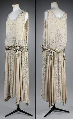 Robe Chanel - soie et chiffon