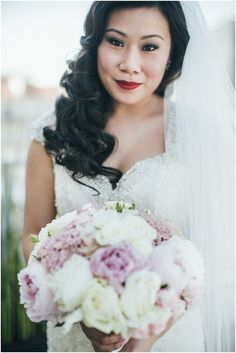 Red lips bride | Image by Lifestories, planning by Fete in France