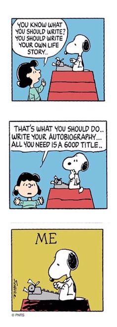'ME', Lucy Van Pelt and Snoopy