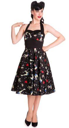 I love this dress! #zombies #rockabilly