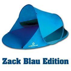 ba6a39e3e Sombrilla de playa Sombrello de Outdoorer en color amarillo o azul - La  sombrilla de playa