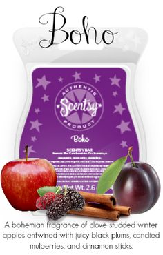 Boho, a new Scentsy fragrance for Fall/Winter 2014. Get yours today at https://tracytodaro.scentsy.us