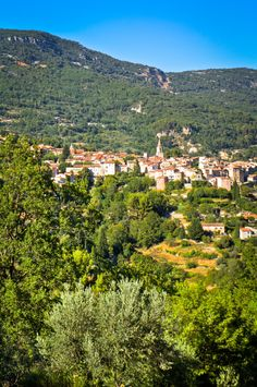 Bargemon, typical village of Provence (France) by Julien Bagnard, via 500px