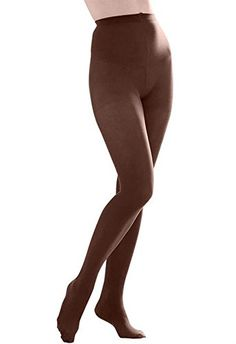 25058becc Butterfly Hosiery Women s Ladies Plus Size Queen Opaque Footed Tights  Fashion Stockings Black Ultra soft with wide comfortable waistband Absolute  opaque ...