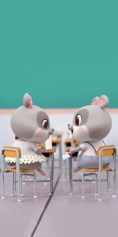 Chibi Wallpaper, Hello Kitty Wallpaper, Retro Wallpaper, Cute Black Wallpaper, Cute Disney Wallpaper, Cute Cartoon Wallpapers, Cute Rabbit Images, Love Wallpapers Romantic, Cute Bunny Cartoon