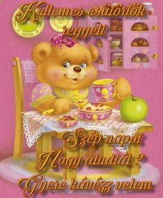 Share Pictures, Animated Gifs, Sendai, Good Morning, Teddy Bear, Animals, Smile, Figurative, Noel
