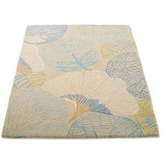 """Grandin Road Monterey Indoor Area Rug - Lagoon, 2'6"""" X 8' (4.310 CZK) ❤ liked on Polyvore featuring home, rugs, hooked rugs, textured rug, tufted rugs, weave rug and leaf rug"""