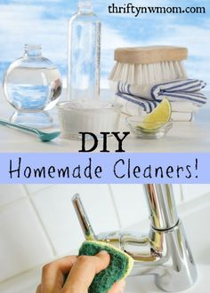 DIY Homemade Cleaner Recipe. I mix my cleaners up and fill reusable spray bottles or containers. Cleaners that work great and safe for my family.