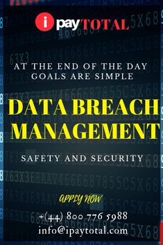 What is a Data Breach A data breach is security circumstance which contains the illegal entry, acknowledgment or retrieval of beneficial conscious data by an enterprise. Data breaches comprise personal information such as credit card numbers, healthcare past, or and Social Security numbers are the most common today.