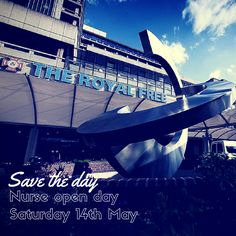The Royal Free London NHS Foundation Trust. Save the Date - Saturday 14th May 2016 from 9am until 4pm, Recruitment Open Day for Band 5 Nurses ITU and A&E. http://budurl.me/RFNurseOpenDayIN