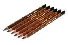 Koh-I-Noor Triograph Graphite Pencil - 4B - Pack of 6
