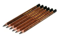 Koh-I-Noor Triograph Graphite Pencil - 4B - Pack of 6