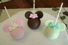 Minnie Silhouette Pops - CakeCentral.com