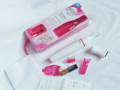 Unboxing: Veet Sensitive Touch Electric Trimmer I am always on the go and with my super hectic schedule (Being a Mom and a Blogger) I don't have the time t