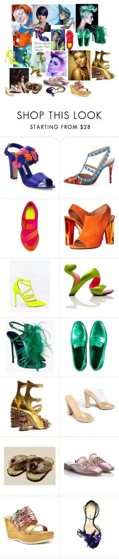 """""""Spring Free"""" by fashionista-since1993 ❤ liked on Polyvore featuring beauty, L'ANZA, Manolo Blahnik, Valentino, Christopher Kane, Calvin Klein Collection, ASOS, Wella, Dsquared2 and Gucci"""