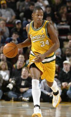 NBA Hardwood Classics, Ray Allen, Seattle SuperSonics.