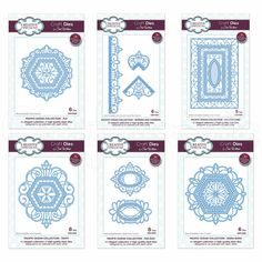 Sue Wilson is renowned for her talent in designing beautiful intricate dies which bring your projects to life. Made from high quality steel, her Collections are designed to work together, gelling co-ordinating features. Your only decision, is which amazing sets to have first! This great bundle set gives you every die design within the Pacific Collection - all in one complimenting range!